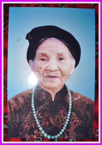 Cụ bà Anna Nguyễn Thị Nhuận