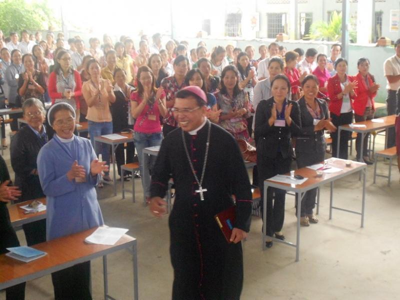 Đức cha Vinh Sơn sẽ gặp gỡ Anh Chị Em đồng hương GP Ban Mê Thuột tại Sài Gòn