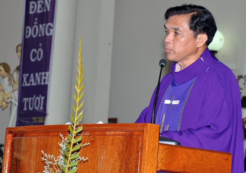 Bài giảng lễ an táng Cha cố Phaolô Nguyễn Công Minh