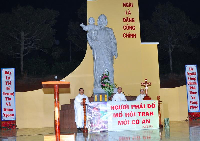 Chương trình lễ thánh Giuse thợ - Bổn mạng giáo họ Thanh Tân
