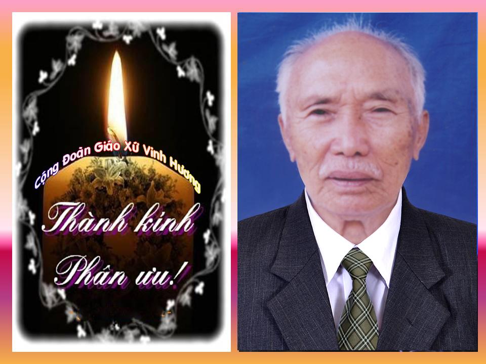 Cáo phó: Ông GB Hoàng Văn Đề đã an nghỉ trong Chúa