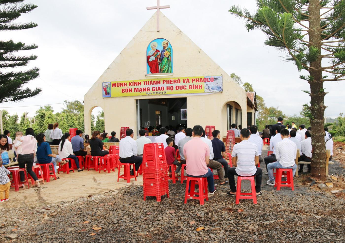 Giáo họ Đức Bình mừng lễ bổn mạng