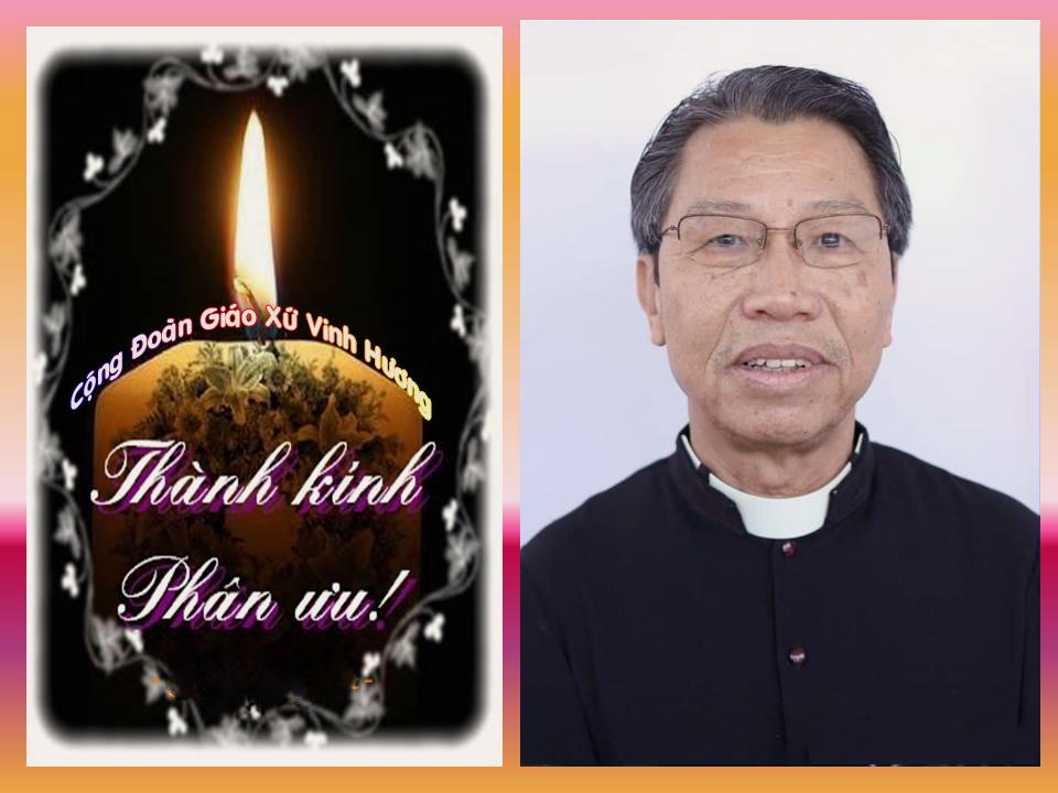 CÁO PHÓ: Linh mục Giuse Lưu Thanh Kỳ